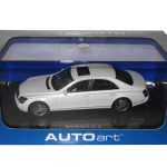 Maybach 57 S 1/43 White Diecast Model Car by Autoart