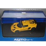 2005 Lotus Exige MKII Yellow 1/43 Diecast Model Car by Autoart