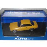 Alfa Romeo 1750 GT Veloce Orange 1/43 Diecast Model Car by Autoart