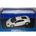 Lamborghini Murcielago White 1/43 Diecast Model Car by Autoart