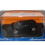 Lamborghini Gallardo Metallic Black  1/43 Diecast Model Car by Autoart