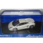 Lamborghini Gallardo Baloon White 1/43 Diecast Model Car by Autoart