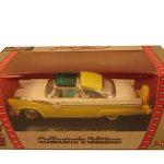 1955 Ford Crown Victoria Yellow 1/43 Diecast Model Car by Road Signature