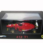 Ferrari 412 T1 Limited Edition Elite 1/43 Diecast Model Car by Hotwheels