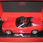 Ferrari 599 Roadster SA Aperta Racing Red #322 Limited to 310pc 1/18 Model Car by BBR