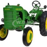 1942 John Deere Model LA Tractor With Wheel Weights 1/16 Diecast Model by Speccast