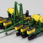 1984 John Deere 7200 12 Row Maxemerge Planter With Fertilizer Tanks 1/64 Diecast Model by Speccast