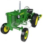 John Deere Model M Narrow Front Tractor With Plow 1/16 Diecast Model by Speccast
