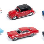 Classic Gold release 1 Set A Set of 6 cars 1/64 Diecast Model Cars by Johnny Lightning
