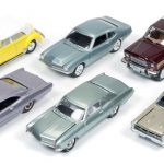 Classic Gold release 1 Set B Set of 6 cars 1/64 Diecast Model Cars by Johnny Lightning