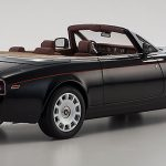 Rolls Royce Phantom Drophead Series 2 Black 1/12 Diecast Model Car by Kyosho