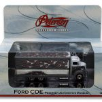 1938 Ford COE Grey Petersen Automotive Museum 1/64 Diecast Model by Hotwheels
