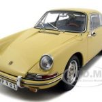 1964 Porsche 901 SC Champagne Yellow 1/18 Diecast Model Car by CMC