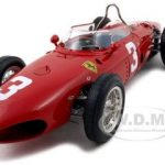 1961 Ferrari Dino 156 F1 #3 2nd Place GP Germany Nurburgring  Wolfang Graf Berghe von Tripps 1 of 6000 Produced1/18 Diecast Model Car by CMC