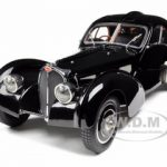 Bugatti Type 57 SC Atlantic Coupe Black Chassis #57.591 1/18 Diecast Model Car by CMC