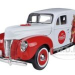 1940 Ford Sedan Delivery Holiday Panel Van Coca Cola The Gift of Thirst 1/24 Diecast Car Model by Motorcity Classics