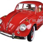 1967 Volkswagen Beetle Enjoy Coca Cola 1/18 Diecast Car Model by Motorcity Classics
