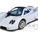 Pagani Zonda C12 White 1/18 Diecast Car Model by Motormax