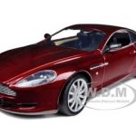 Aston Martin DB9 Coupe Burgundy 1/18 Diecast Car Model by Motormax