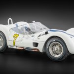 1960 Maserati Tipo 61 Birdcage #7 Cuba GP Winner Dan Gurney and Stirling Moss Limited Edition to 1500pcs 1/18 Diecast Model Car by CMC