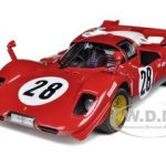 Ferrari 512 S #28 24hr of Daytona 1970 Elite Edition 1/18 Diecast Car Model by Hotwheels