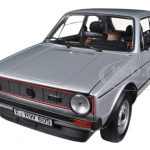 1976 Volkswagen Golf GTi Silver 1/18 Diecast Car Model by Norev
