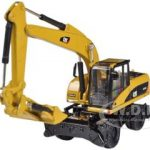 CAT Caterpillar M318D Wheel Excavator 1/87 Diecast Model by Norscot
