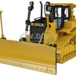 CAT Caterpillar D6T XW VPAT Track Type Tractor with AccuGrade GPS Technology 1/50 Diecast Model by Norscot