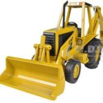 CAT Caterpillar 416 Backhoe Loader 1/32 Diecast Model by Norscot