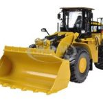 CAT Caterpillar 980K Wheel Loader Rock Configuration 1/50 Diecast Model by Norscot