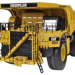 CAT Caterpillar 795F AC Mining Truck 1/50 Diecast Model by Norscot