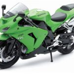 2006 Kawasaki ZX-10R Ninja Green Motorcycle 1/12 Model by New Ray