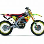 Suzuki RM-Z 450 #7 James Stewart Motorcycle Model 1/12 by New Ray