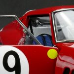 1962 Ferrari 250 GTO #19 Le Mans Limited Edition to 1500pcs 1/18 Diecast Model Car by CMC