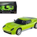 Lamborghini Miura Concept Green Elite Edition 1/43 Diecast Model Car by Hotwheels