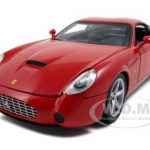 Ferrari 575 GTZ Zagato Red 1/18 Diecast Model Car by Hotwheels