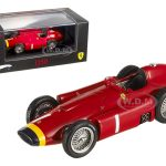 Ferrari D50 #1 Elite Edition 1/43 Diecast Model Car by Hotwheels