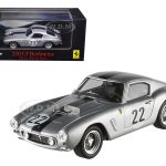 Ferrari 250 GT Berlinetta Short Wheel Base #22 Silver Elite Edition 1/43 Diecast Car Model by Hotwheels