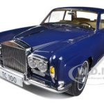 1968 Rolls Royce Silver Shadow Oxford Blue from Movie Thomas Crown Affairs Ltd to 3500pc 1/18 Diecast Model by Paragon Models