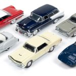 Mint Release 1 Set B Set of 6 cars 1/64 by Racing Champions