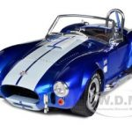 1965 Shelby Cobra 427 SC Metallic Blue With White Stripes 1/18 Limited Edition by Shelby Collectibles