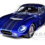 1965 Shelby Cobra Daytona Metallic Blue Limited Edition 1/18 Diecast Model Car by Shelby Collectibles