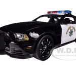 2013 Ford Mustang Boss 302 Highway Patrol Car 1/18 Diecast Car Model by Shelby Collectibles