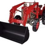 Massey Ferguson 98 Diesel Tractor With Front Loader 1/16 Diecast Model by Speccast