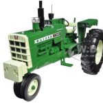 Oliver 1750 Gas Narrow Front Tractor with Radio and Front Weight 1/16 Diecast Model by Speccast