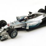 2014 GP British Winner Mercedes Petronas F1 W05 #44 Lewis Hamilton Formula 1 1/18 Model Car by Spark