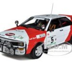 Audi Quattro #5 Marlboro 1982 Rally Côte DIvoire H.Mikkola/R.Gumpert Limited Edition 1 of 899 Produced Worldwide 1/18 Diecast Model Car by Sunstar