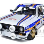 Ford Escort RS1800 #1 Rothmans P.Airikkala/P.Short Winner Mintex International Rally 1981 Limited to 1979pc 1/18 Diecast Model Car by Sunstar
