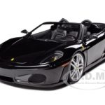 Ferrari F430 Spider Black Elite Edition Owned by Seal 1/18 Diecast Model Car by Hotwheels