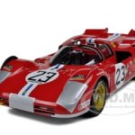 Ferrari 512 S #23 Daytona 1971 B.Adamovicz Elite Edition 1/18 Diecast Model Car by Hotwheels